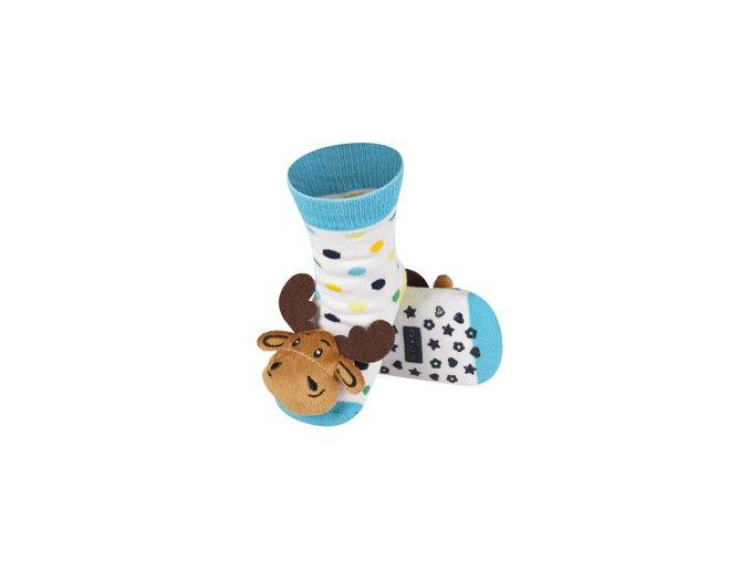 Dětské chrastítkové ponožky SOXO SOB