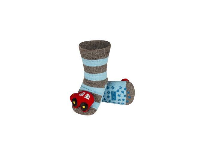 Dětské chrastítkové ponožky SOXO AUTO