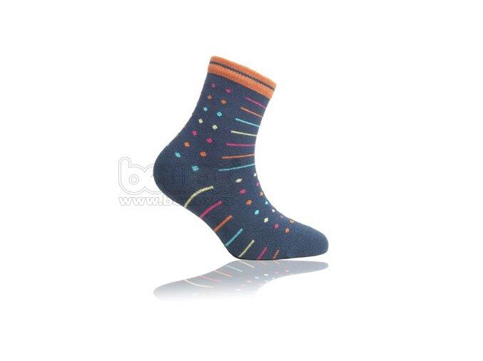 Dětské vzorované ponožky WOLA