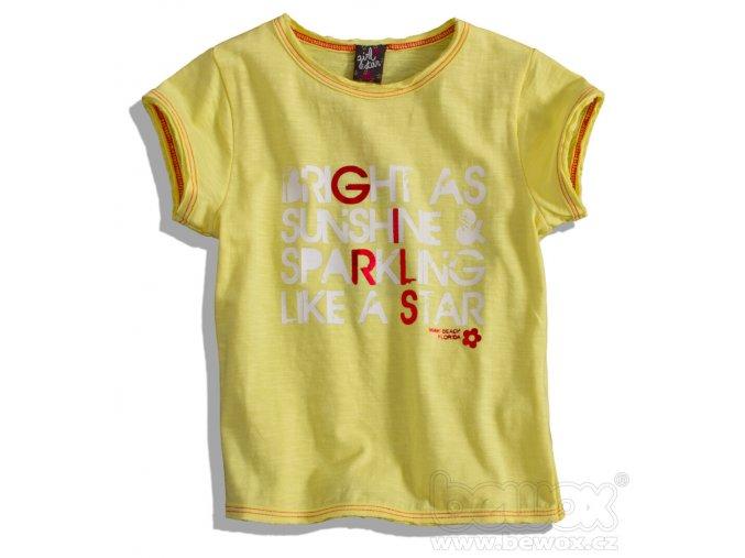 BEWOX velkoobchod Dětské tričko GIRLSTAR 2440113-00-YE5