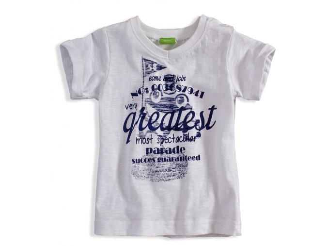 BEWOX velkoobchod Kojenecké tričko PEBBLESTONE 3668399-00-WH1