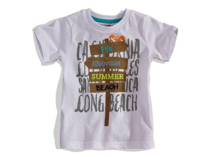 BEWOX velkoobchod Dětské tričko MINOTI SNAP6-0003-WH1