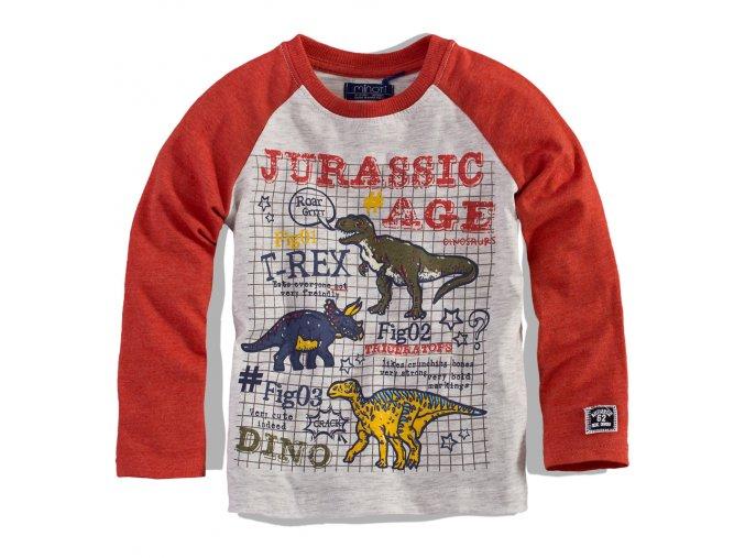 BEWOX velkoobchod Dětské tričko MINOTI TRECK-0001-OR5