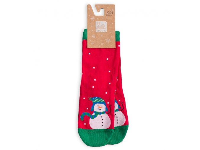 BEWOX velkoobchod Ponožky sváteční vzor  W4-000916-R56
