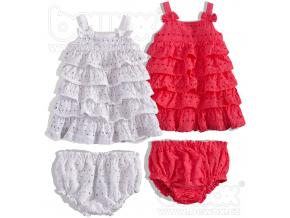 Dětské šaty BABALUNO balení 4ks