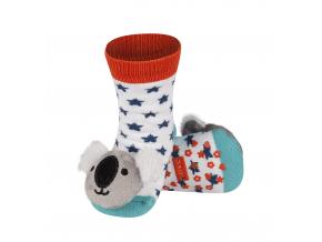 Dětské chrastítkové ponožky SOXO KOALA