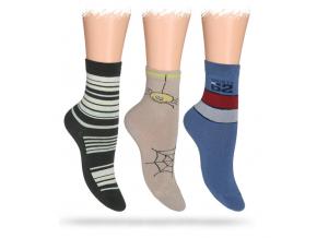 Dětské ABS ponožky WOLA 2+1 zdarma
