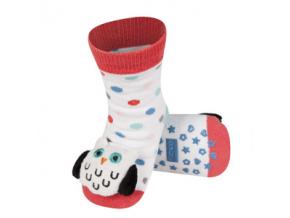 Dětské chrastítkové ponožky SOXO SOVA