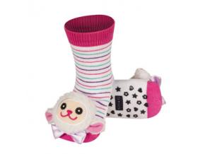 Dětské chrastítkové ponožky SOXO OVEČKA