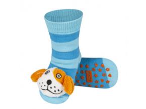 Dětské chrastítkové ponožky SOXO PEJSEK