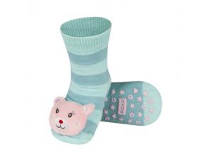 Dětské chrastítkové ponožky SOXO ZVÍŘÁTKO
