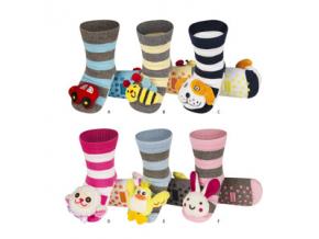 Dětské chrastítkové ponožky SOXO balení 6ks
