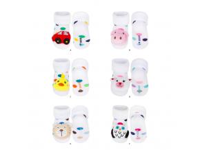 kojenecké ponožky SOXO balení 6 ks