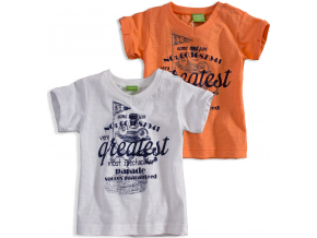kojenecké tričko PEBBLESTONE balení 4 ks