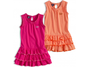 dětské šaty PEBBLESTONE balení 6 ks