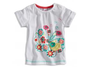 BEWOX velkoobchod Kojenecké tričko GIRLSTAR 3664220-00-WH1