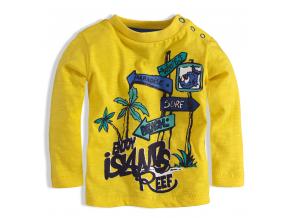 BEWOX velkoobchod Kojenecké tričko KNOT SO BAD C-Z16-3214-YE5