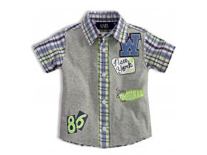 BEWOX velkoobchod Dětská košile KNOT SO BAD C-Z17-8205-GR3