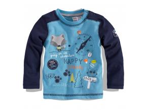 BEWOX velkoobchod Kojenecké tričko BABALUNO FOX-000005-BL5