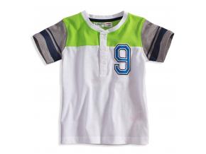 BEWOX velkoobchod Dětské tričko MINOTI GREEN-0001-WH1