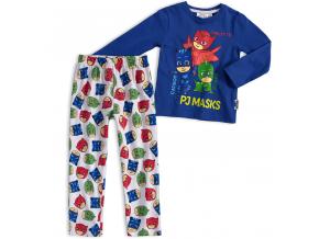 BEWOX velkoobchod Dětské pyžamo PJ MASKS L-P601-BL5-WH1