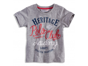 BEWOX velkoobchod Dětské tričko MINOTI POLO7-0008-GY3
