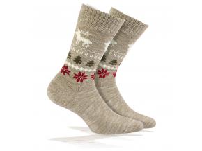 BEWOX velkoobchod ponožky vlna WOLA W4-139998-Q48