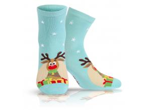 BEWOX velkoobchod Ponožky sváteční vzor  W4-000907-T22
