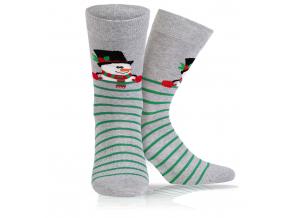 BEWOX velkoobchod Ponožky sváteční vzor  W4-000933-Q35