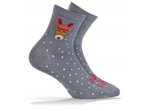 BEWOX velkoobchod Ponožky sváteční vzor  W4-000947-G76