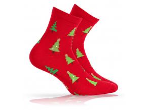 BEWOX velkoobchod Ponožky sváteční vzor  W4-000954-R56