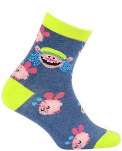 Dětské vzorované ponožky GATTA TROLLOVÉ 30-32