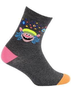 Dětské vzorované ponožky GATTA TROLLOVÉ 21-23
