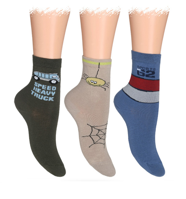 Dětské ABS ponožky WOLA 2+1 zdarma 30-32