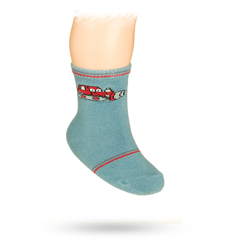 Kojenecké vzorované ponožky WOLA 15-17