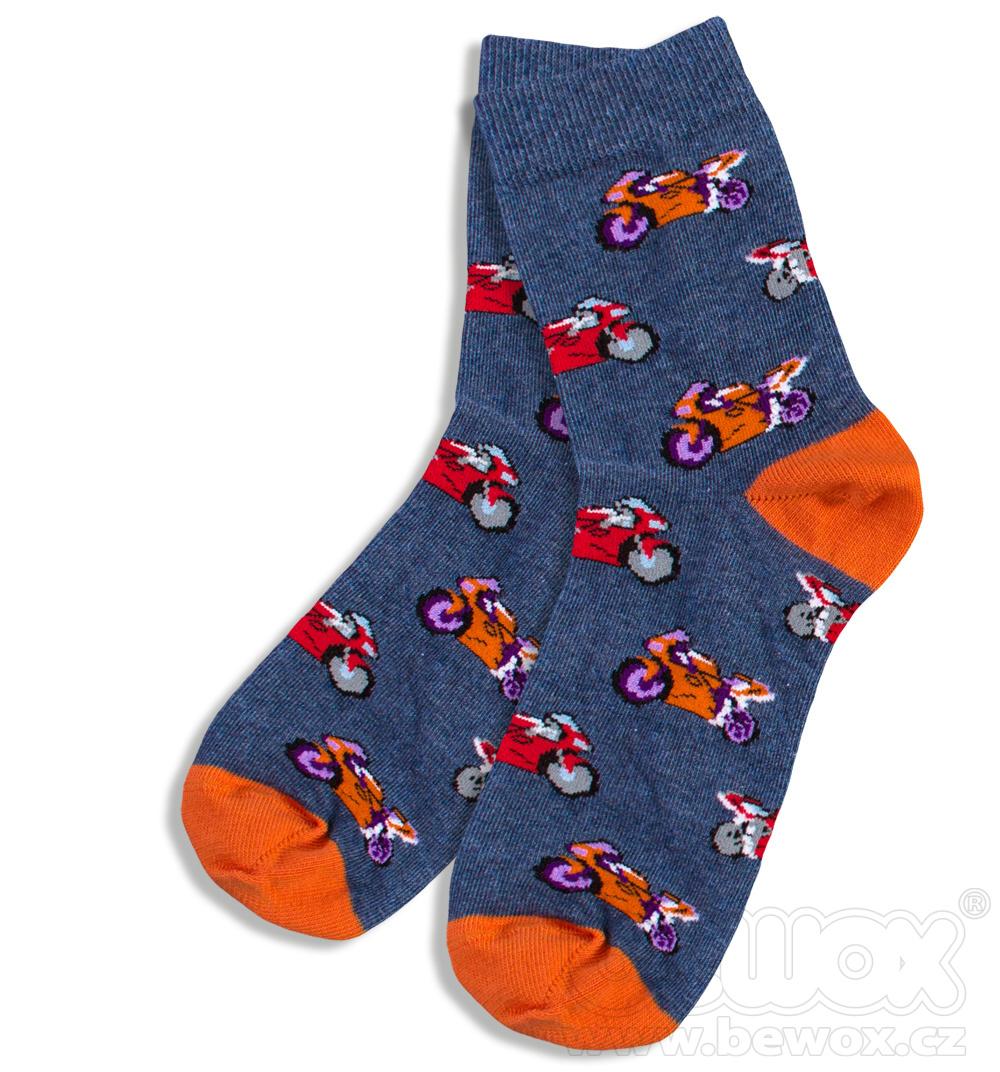 Dětské vzorované ponožky GATTA 33-35