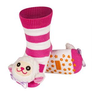 Dětské chrastítkové ponožky SOXO OVEČKA 19-21