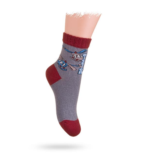 Dětské vzorované ponožky WOLA 21-23