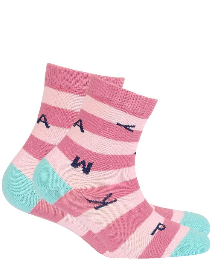 dětské ponožky vzor GATTA PÍSMENA 21-23