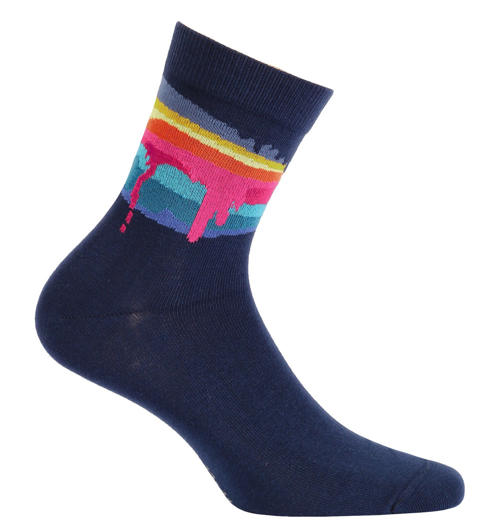 dětské ponožky vzor GATTA COLOURS 33-35