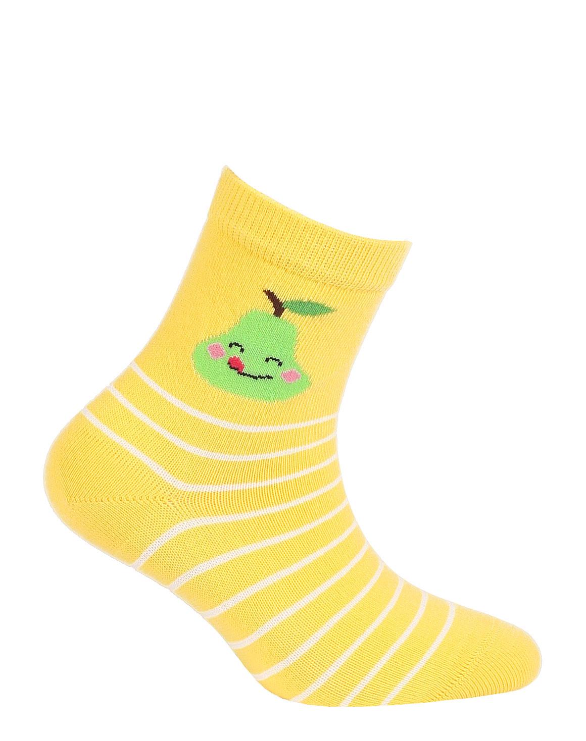 dětské ponožky vzor GATTA HRUŠKA 24-26