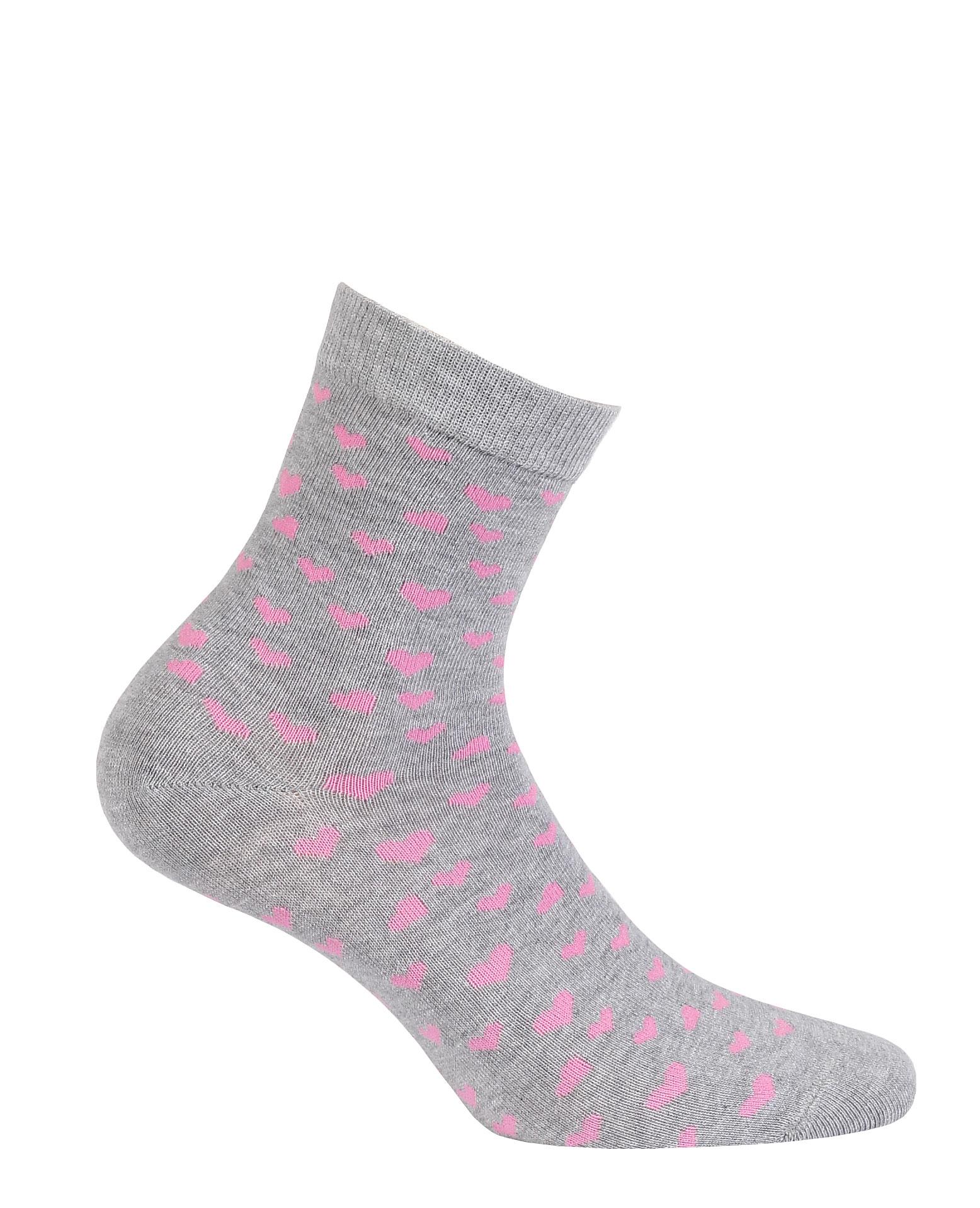 dětské ponožky vzor GATTA SRDÍČKA 36-38