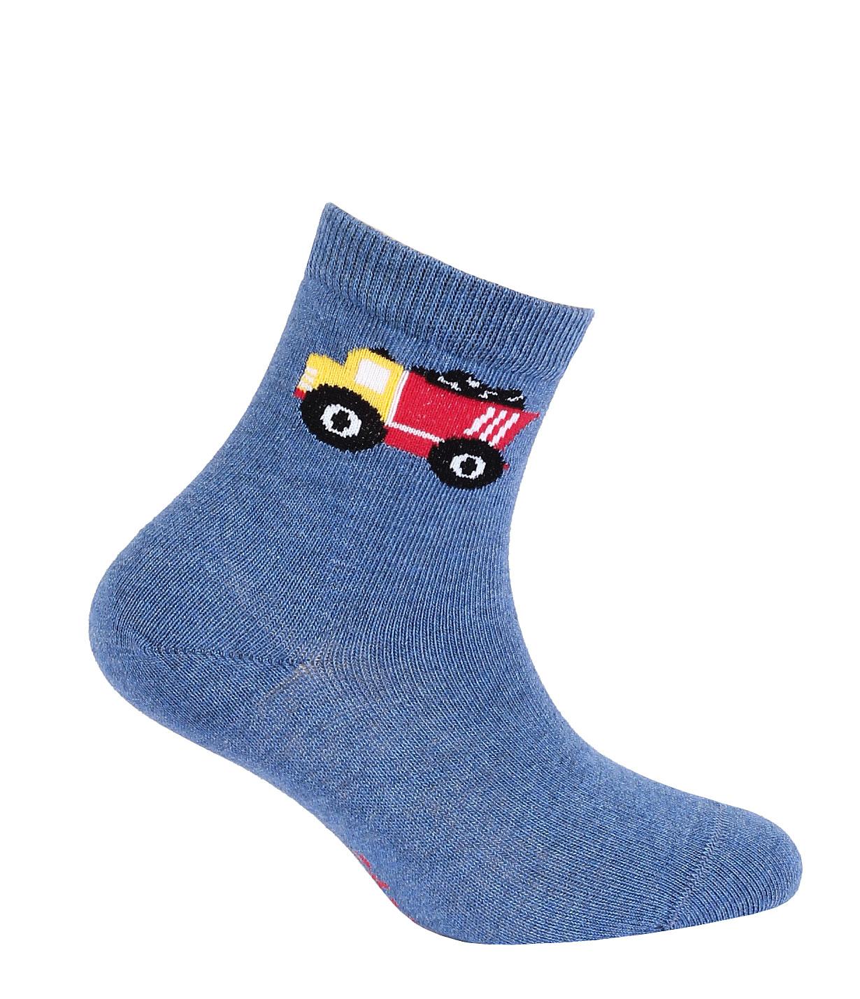 dětské ponožky vzor GATTA NÁKLAĎÁK 24-26