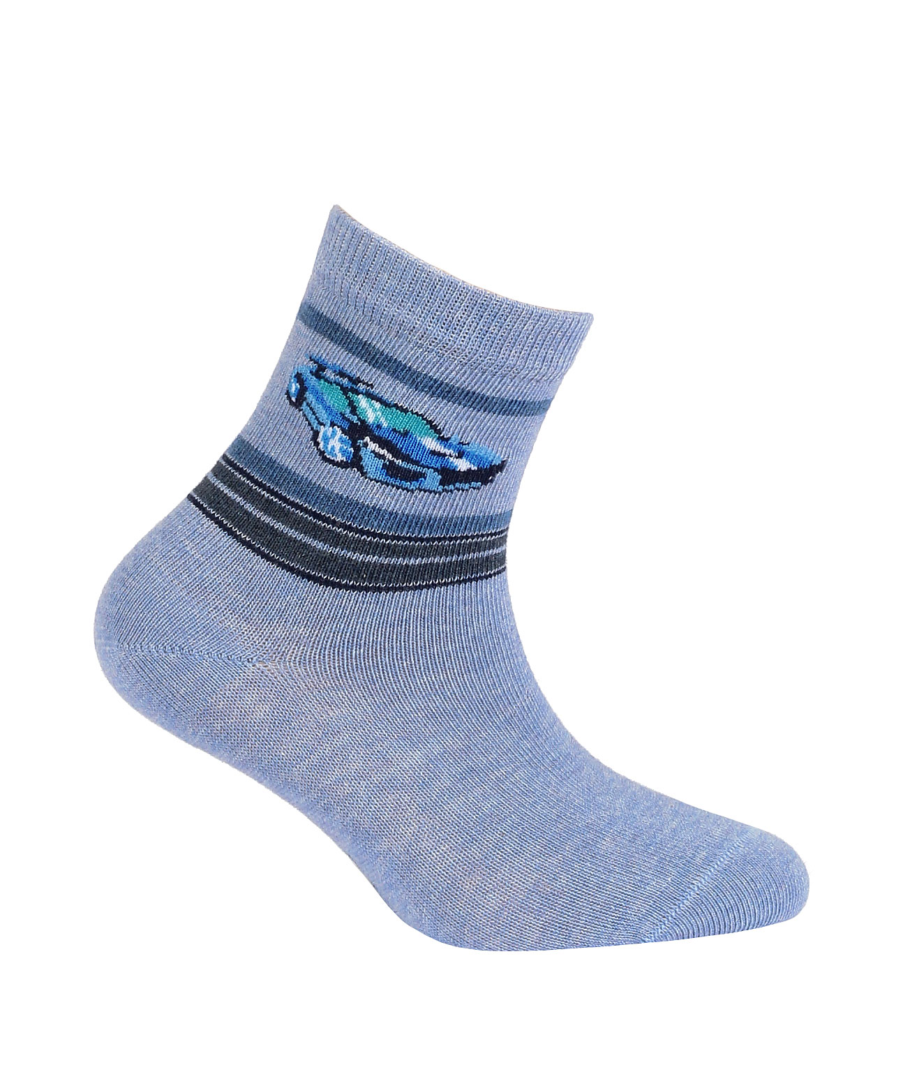 dětské ponožky vzor GATTA SPORTOVNÍ AUTO 27-29