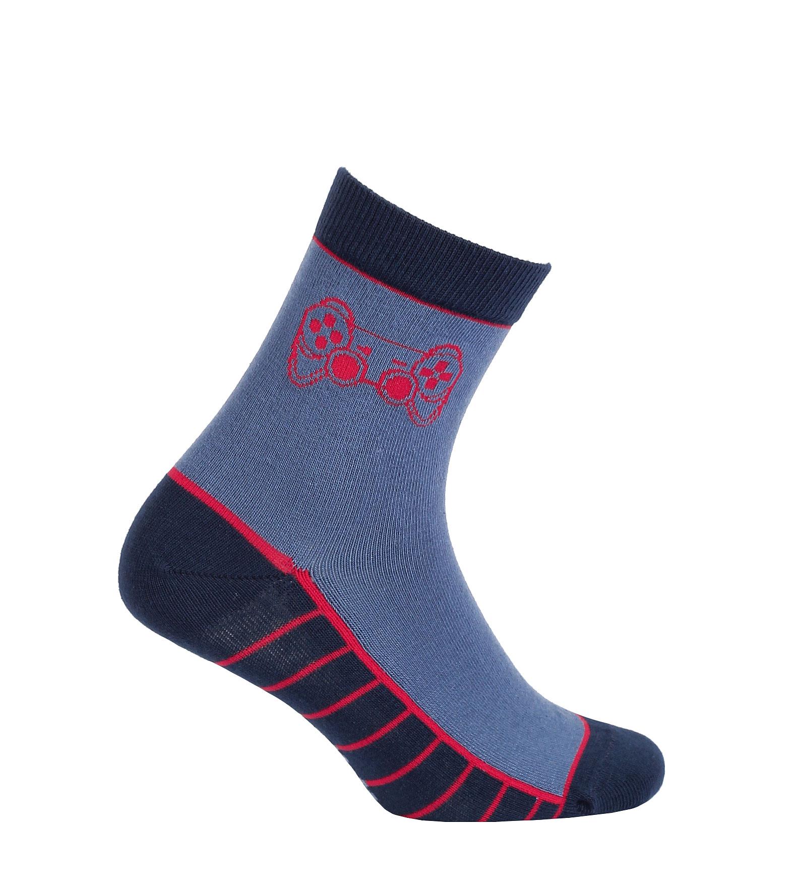 dětské ponožky vzor GATTA GAME 27-29