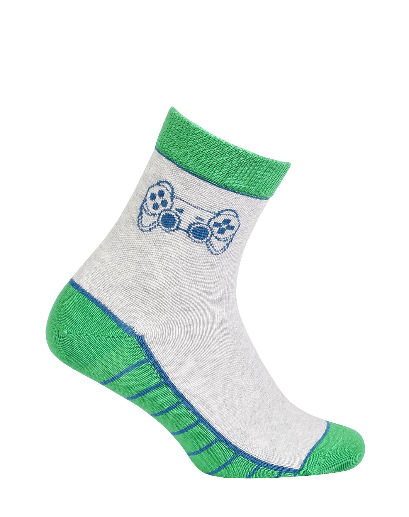 dětské ponožky vzor GATTA GAME 33-35