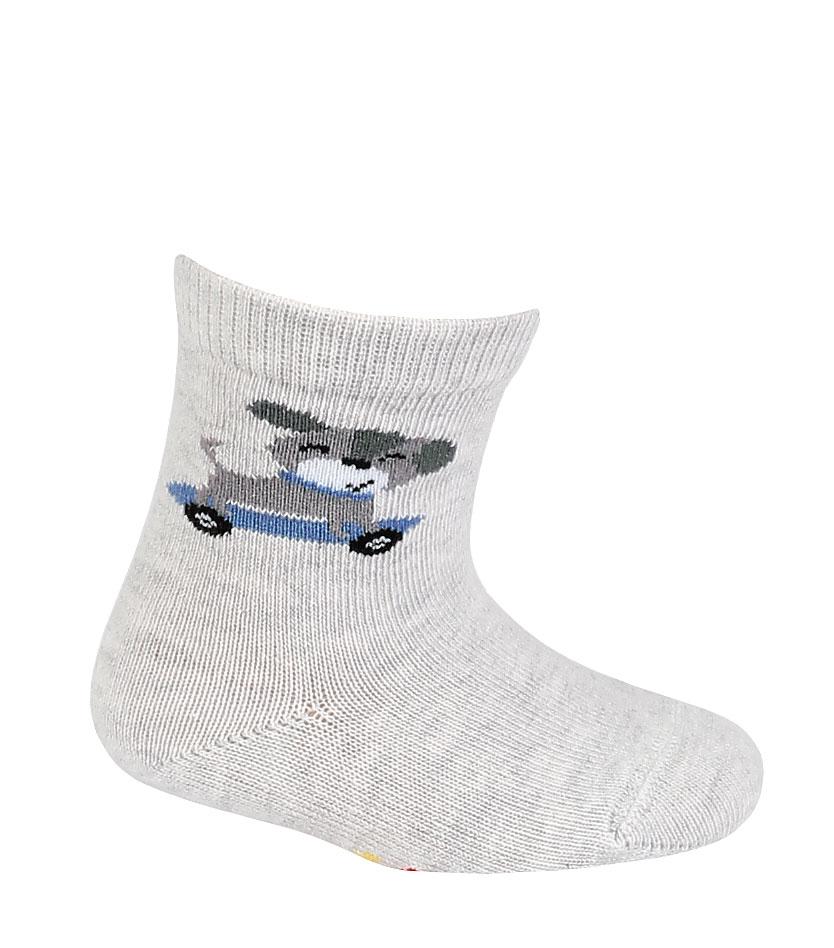 kojenecké ponožky vzor WOLA PEJSEK 15-17