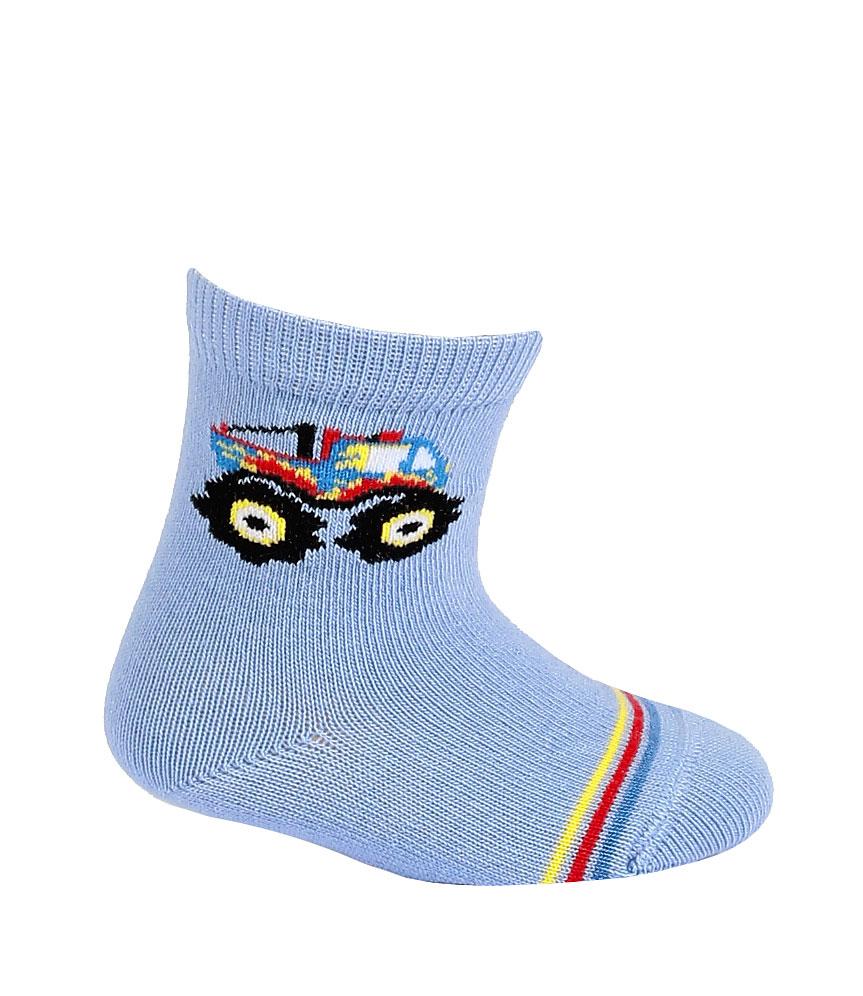 dětské ponožky vzor WOLA MONSTER TRUCK 12-14
