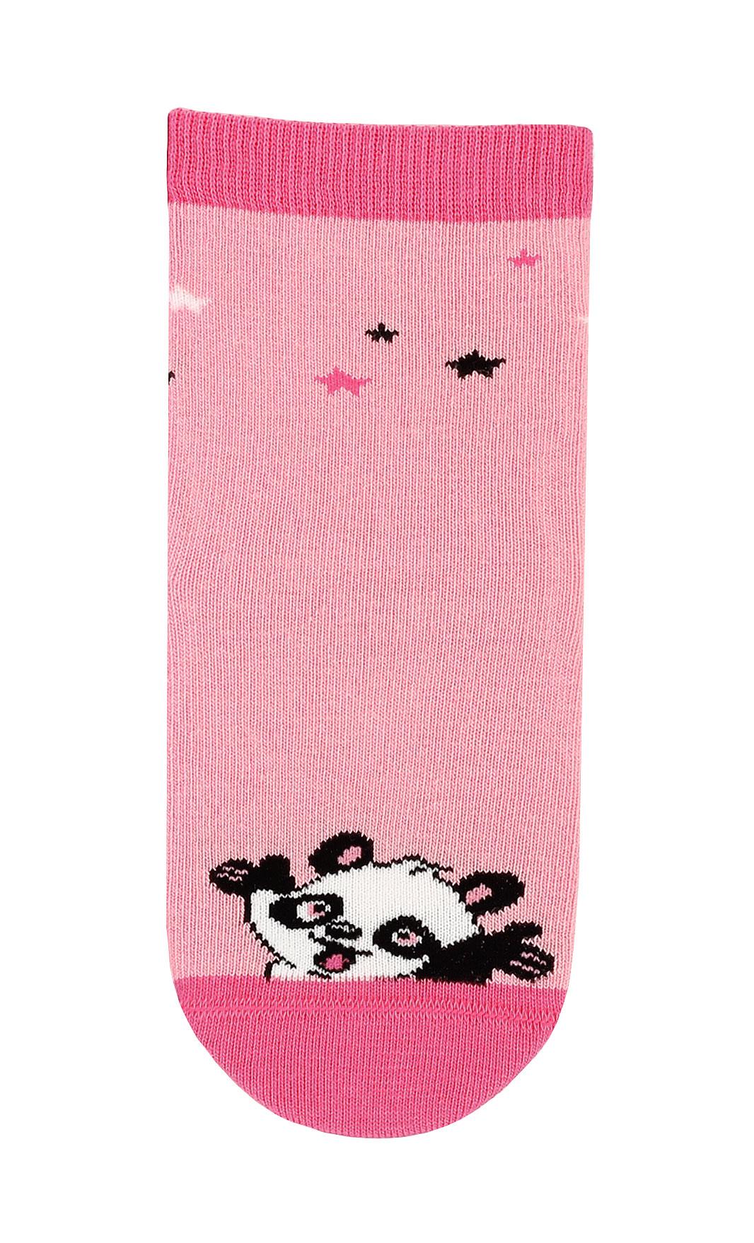 dětské ponožky vzor GATTA PANDA růžové 24-26