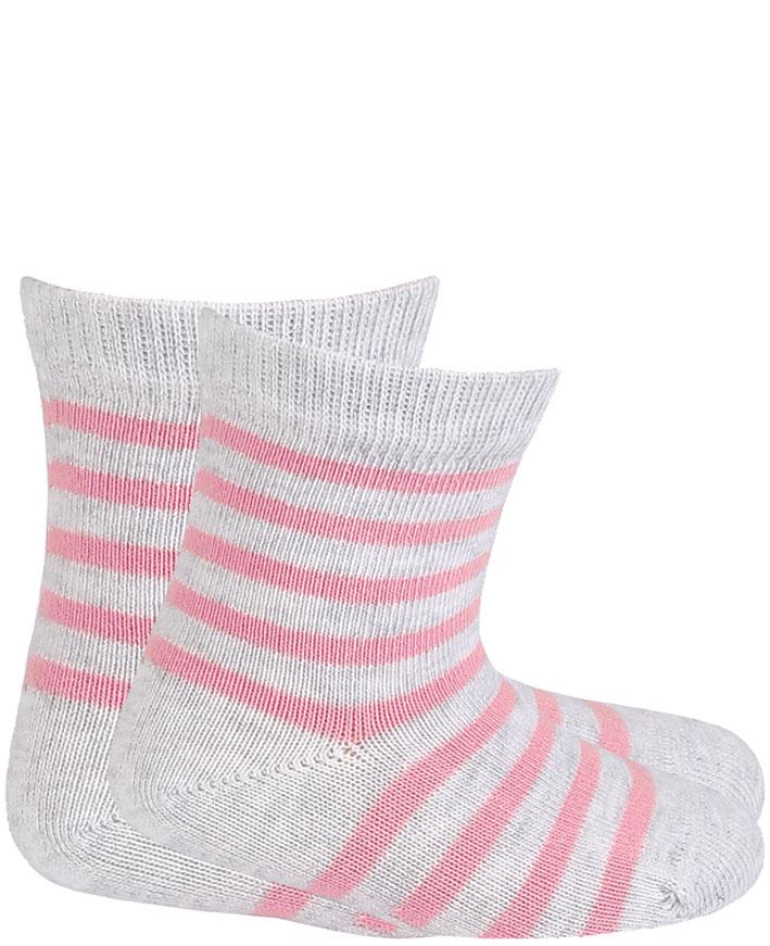 dětské ponožky vzor WOLA PROUŽKY 18-20